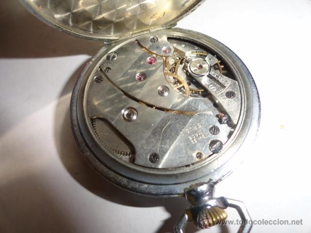 Relojes de bolsillo: RELOJ BOLSILLO A CUERDA O.DUSONCHET CAIRO DE SUIZA 15 RUBIS FUNCIONANDO - Foto 5 - 43276881