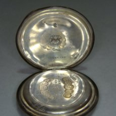 Relojes de bolsillo: ANTIGUO RELOJ DE BOLSILLO. PLATA .900 MLS (CON CONTRASTE). DE TRES TAPAS. NO FUNCIONA.. Lote 43404676