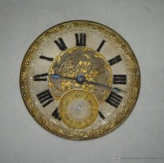 Relojes de bolsillo: PRECIOSA ESFERA DE RELOJ DE BOLSILLO. S.XIX. LONGINES. 43 MM DE DIAMETRO.. Lote 43404782