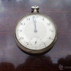 Relojes de bolsillo: RELOJ DE BOLSILLO PLATA. Lote 43612387