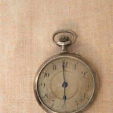 Relojes de bolsillo: RELOJ DE BOLSILLO ANTIGUO EN PLATA DE LEY. Lote 43629167