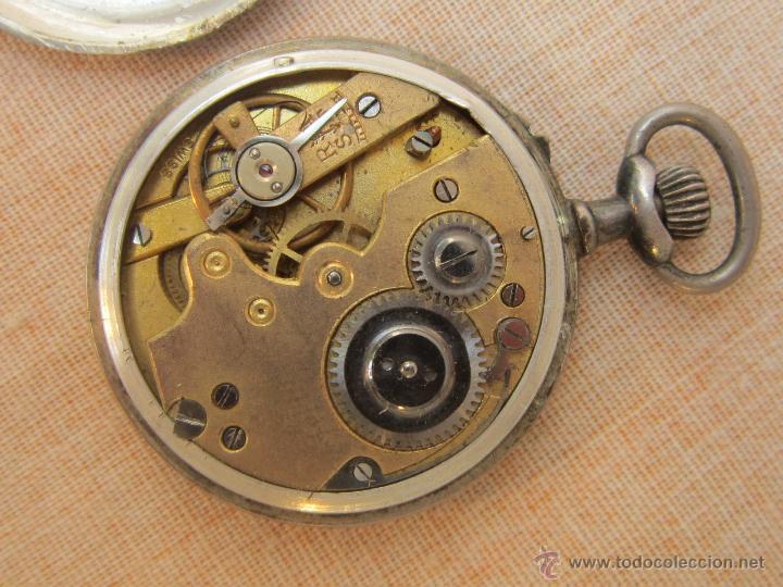 Relojes de bolsillo: RELOJ DE BOLSILLO ANTIGUO EN PLATA DE LEY - Foto 4 - 43629167