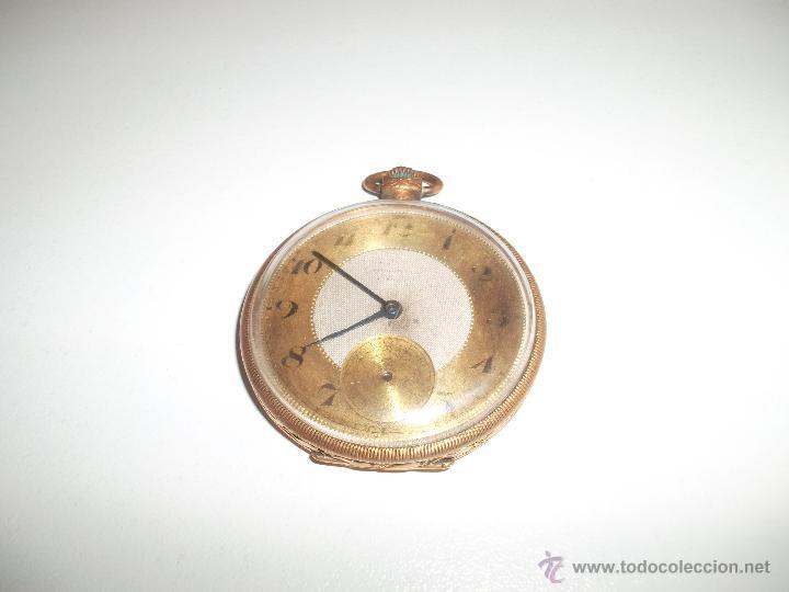 RELOJ CHAPADO EN ORO (Relojes - Bolsillo Carga Manual)
