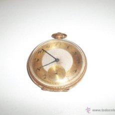 Relojes de bolsillo: RELOJ CHAPADO EN ORO. Lote 44040976