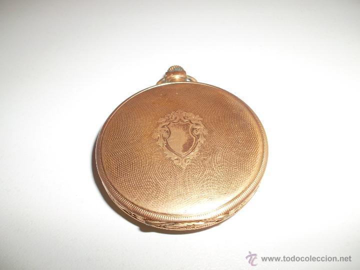 Relojes de bolsillo: RELOJ CHAPADO EN ORO - Foto 2 - 44040976