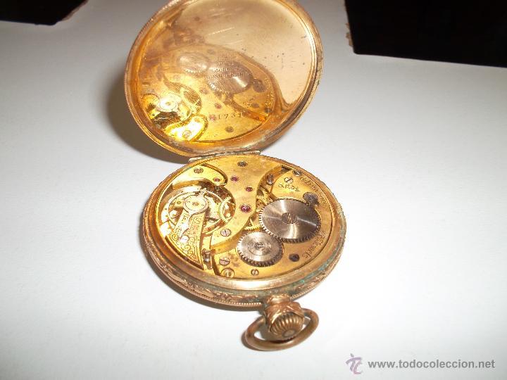 Relojes de bolsillo: RELOJ CHAPADO EN ORO - Foto 3 - 44040976