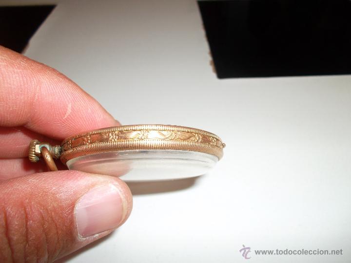 Relojes de bolsillo: RELOJ CHAPADO EN ORO - Foto 4 - 44040976