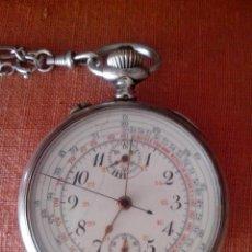 Relojes de bolsillo: RELOJ DE BOLSILLO CRONÓMETRO. Lote 44728318