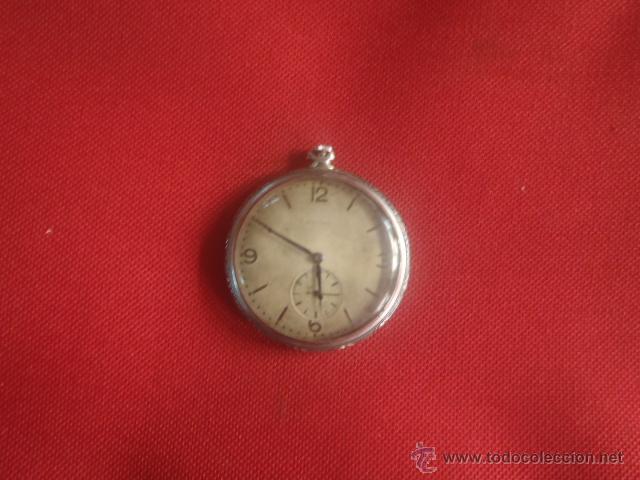 Relojes de bolsillo: RELOJ DE BOLSILLO CYMA PATENTED 20452 FUNCIONANDO,MIDE 4,50 SIN CONTAR LA CORONA. - Foto 3 - 122793659
