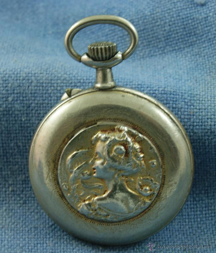 Relojes de bolsillo: RELOJ DE MONJA PRECIOSO DECORADO - Foto 2 - 45245663
