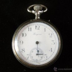 Relojes de bolsillo: RELOJ DE CUERDA DE BOLSILLO MARCA LONGINES. Lote 45290390