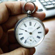 Relojes de bolsillo: RELOJ DE PLATA DE LLAVES SAUTINA - PERFECTO FUNCIONAMIENTO. Lote 45417642
