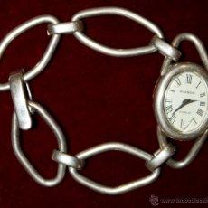 Relojes de bolsillo: BONITO RELOJ DE SEÑORA DE LOS AÑOS 30 EN PLATA DE 800 DE LA MARCA BLASDO (INCABLOC). Lote 45597685