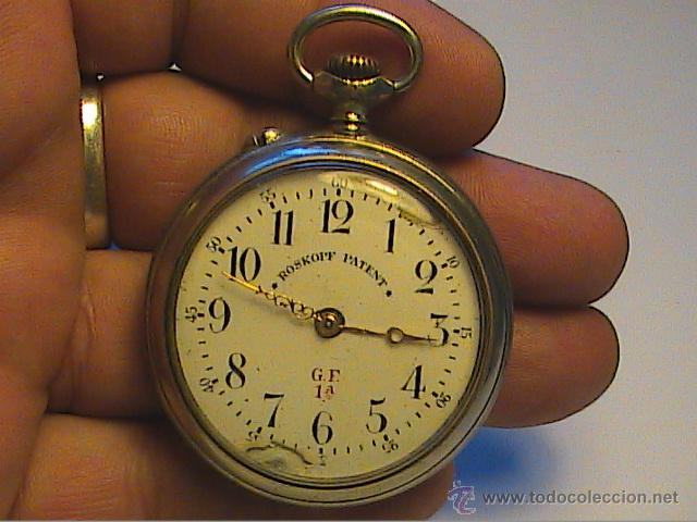 Reloj De Bolsillo Roskopf Patent Gf 1 170 Princip Comprar