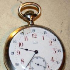 Relojes de bolsillo: GRAN RELOJ DE BOLSILLO MARCA INVAR EN PLATA, PARA REPARAR VER FOTOS. Lote 46001092