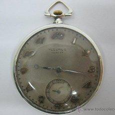 Relojes de bolsillo: RELOJ DE BOLSILLO , FLEURUS GENEVE,BREVET,SWISS MADE BREGUET HSPG,SERIE 813576. Lote 46021567