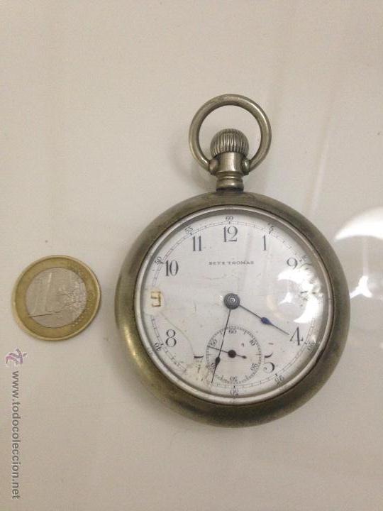 ANTIGUO RELOJ FERROVIARIO (Relojes - Bolsillo Carga Manual)