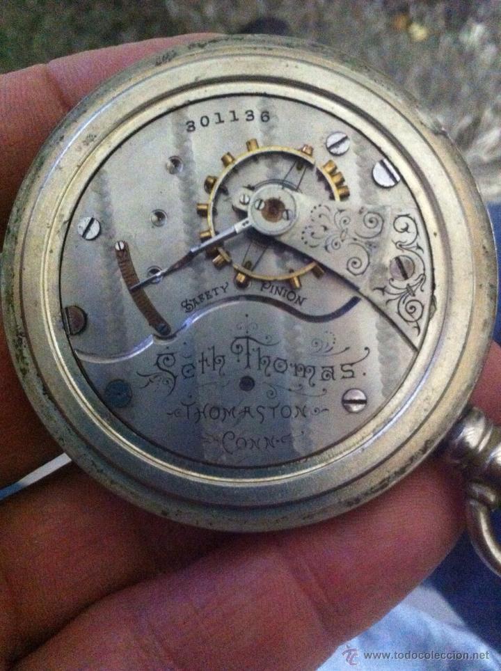 Relojes de bolsillo: Antiguo reloj ferroviario - Foto 3 - 46468653
