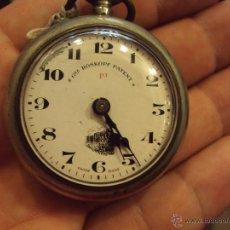 Relojes de bolsillo: RELOJ BOLSILLO ROSKOPF PATENT - LOCOMOTORA. Lote 46655338