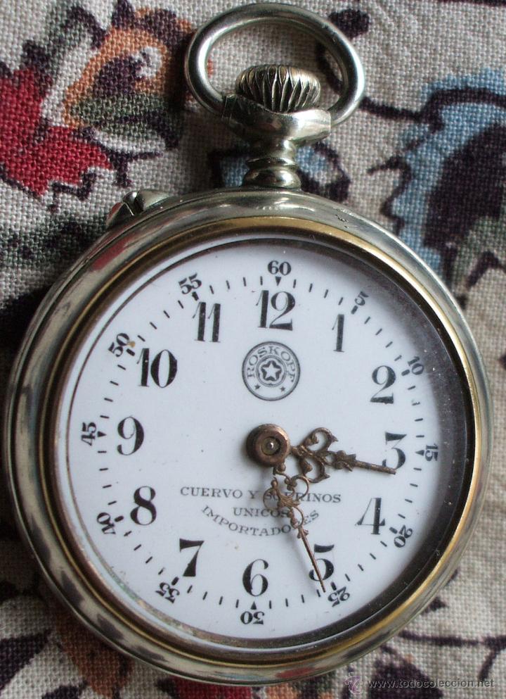 Reloj De Bolsillo Cuervo Y Sobrinos Roskopf Pri Comprar