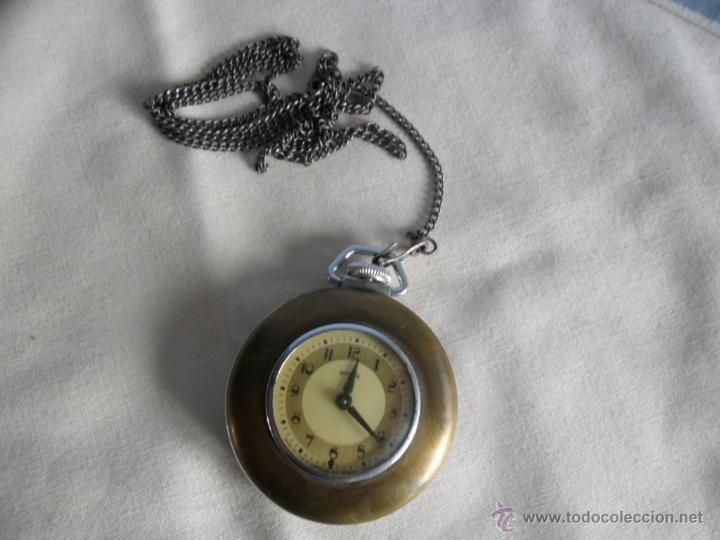 RELOJ DE BOLSILLO HECHO POR INGRAHAM CO. USA. ANTIGUO (Relojes - Bolsillo Carga Manual)