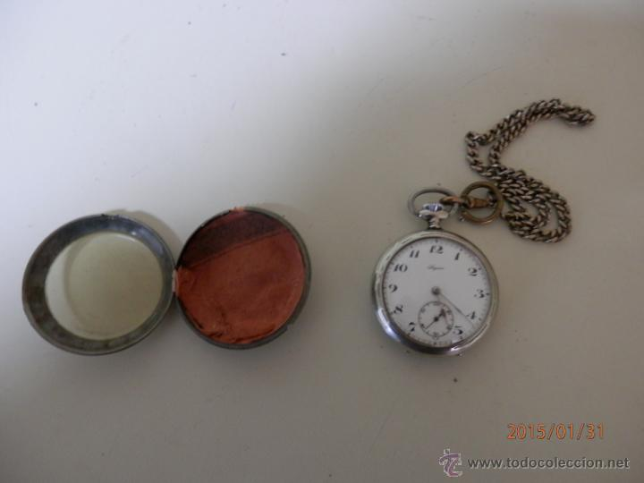 RELOJ BOLSILLO PLATA (Relojes - Bolsillo Carga Manual)