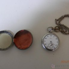 Relojes de bolsillo: RELOJ BOLSILLO PLATA. Lote 47505720
