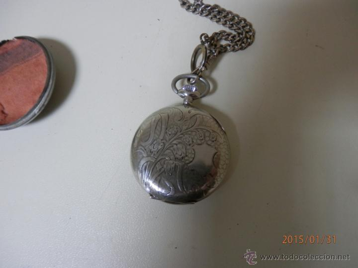Relojes de bolsillo: RELOJ BOLSILLO PLATA - Foto 2 - 47505720