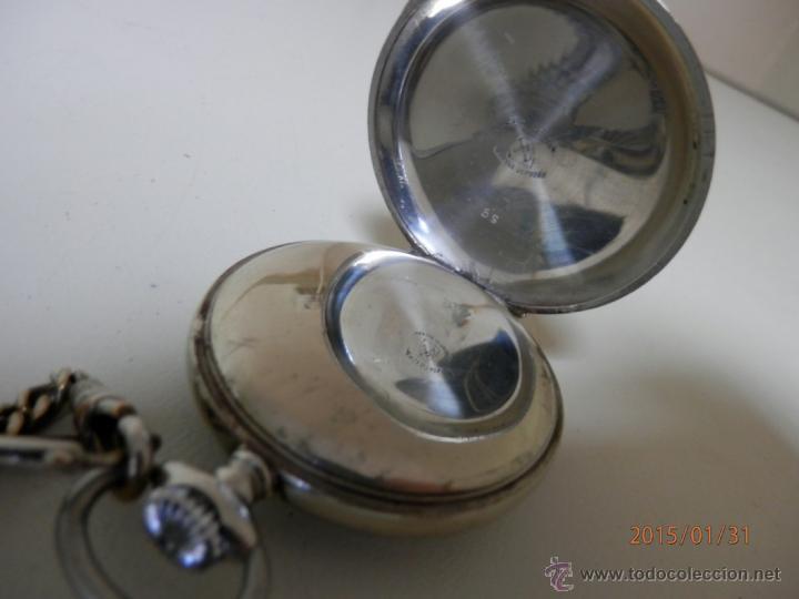 Relojes de bolsillo: RELOJ BOLSILLO PLATA - Foto 3 - 47505720