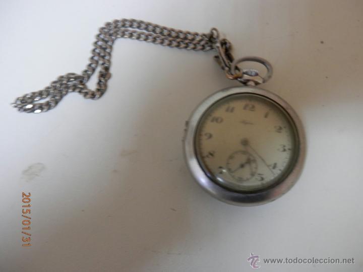 Relojes de bolsillo: RELOJ BOLSILLO PLATA - Foto 4 - 47505720