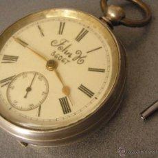Relojes de bolsillo: INGLÉS JOHN H 36067, RELOJ SERIADO DE COMANDANTE BRITÁNICO. 1890 B324A. Lote 51522951