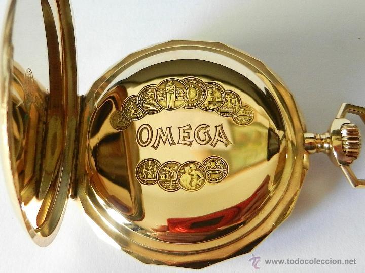 Omega Oro 14 K Comprar Relojes Antiguos De Bolsillo