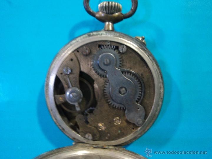 Relojes de bolsillo: LOTE DE 4 RELOJES DE BOLSILLO-PARA PIEZAS-REPUESTOS O RESTAURAR-LEER DISCRIPCION - Foto 3 - 47874933
