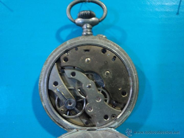 Relojes de bolsillo: LOTE DE 4 RELOJES DE BOLSILLO-PARA PIEZAS-REPUESTOS O RESTAURAR-LEER DISCRIPCION - Foto 4 - 47874933
