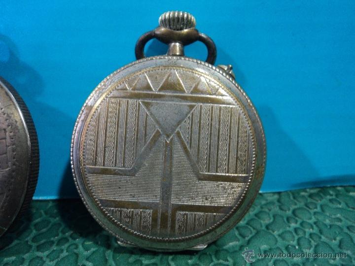 Relojes de bolsillo: LOTE DE 4 RELOJES DE BOLSILLO-PARA PIEZAS-REPUESTOS O RESTAURAR-LEER DISCRIPCION - Foto 8 - 47874933