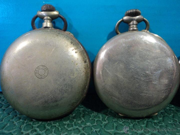 Relojes de bolsillo: LOTE DE 4 RELOJES DE BOLSILLO-PARA PIEZAS-REPUESTOS O RESTAURAR-LEER DISCRIPCION - Foto 10 - 47874933