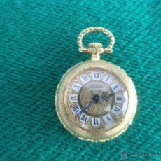 Relojes de bolsillo: PEQUEÑO RELO DORADO DE SEÑORA BLITA SWISS CUERDA. Lote 48158072
