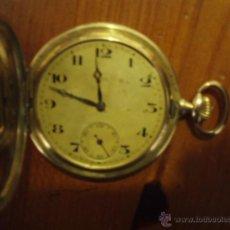 Relojes de bolsillo: RELOJ SAVONET CHAPADO.. Lote 48321133