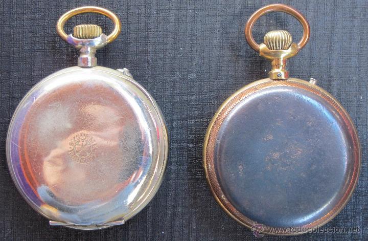 Relojes de bolsillo: DOS PRECIOSOS RELOJES BOLSILLO BUEN ESTADO FUNCIONANDO ROSKOPF Y PAUL HEMMELER - Foto 4 - 48463908