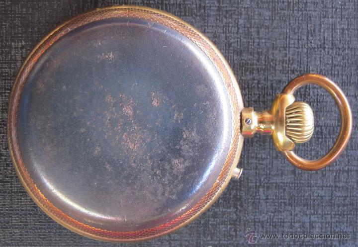 Relojes de bolsillo: DOS PRECIOSOS RELOJES BOLSILLO BUEN ESTADO FUNCIONANDO ROSKOPF Y PAUL HEMMELER - Foto 6 - 48463908
