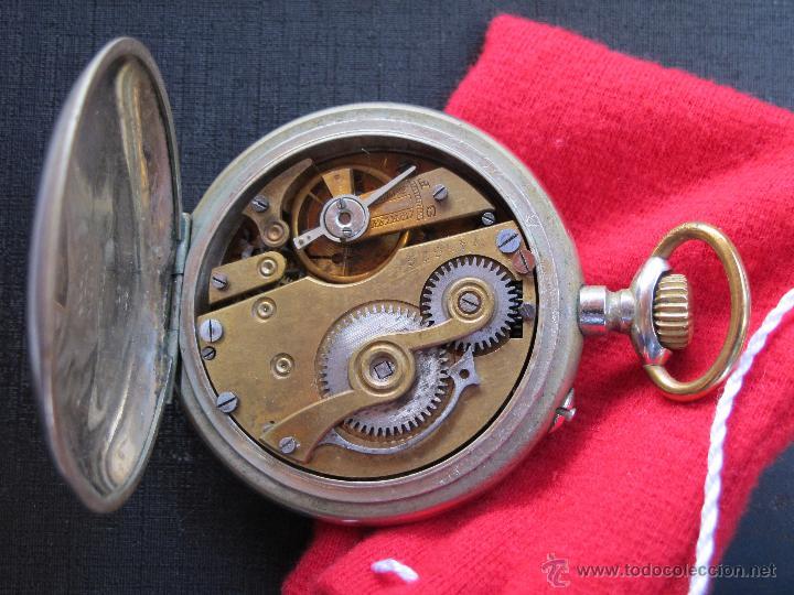 Relojes de bolsillo: DOS PRECIOSOS RELOJES BOLSILLO BUEN ESTADO FUNCIONANDO ROSKOPF Y PAUL HEMMELER - Foto 8 - 48463908