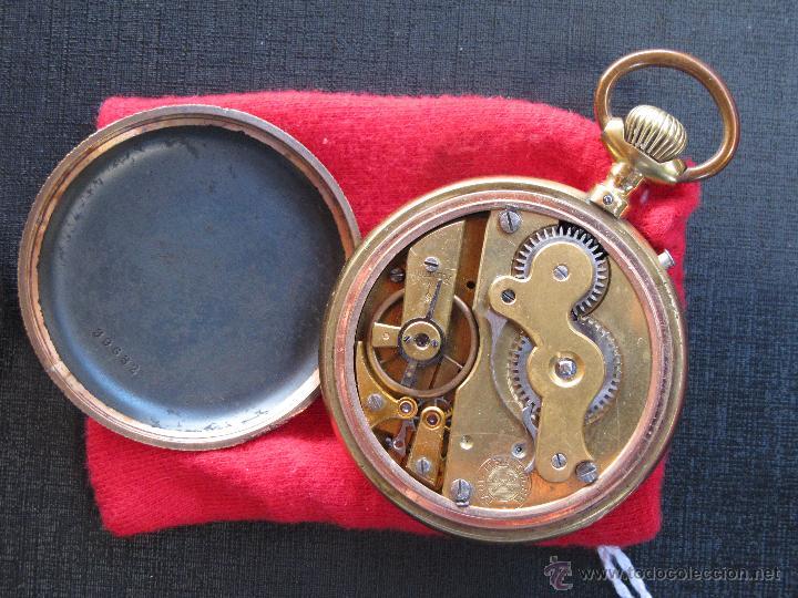 Relojes de bolsillo: DOS PRECIOSOS RELOJES BOLSILLO BUEN ESTADO FUNCIONANDO ROSKOPF Y PAUL HEMMELER - Foto 9 - 48463908