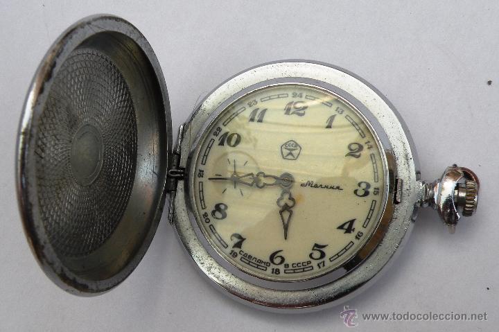 RELOJ DE LA URSS (Relojes - Bolsillo Carga Manual)