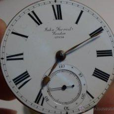 Relojes de bolsillo: MECANISMO RELOJ DE BOLSILLO CATALINO JOHN FORREST LONDON 17354 47MM. Lote 48673580