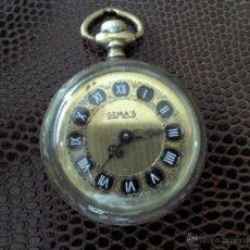 Relojes de bolsillo: RELOJ ANTIGUO DE BOLSILLO, PEQUEÑO, MARCA GEMA´S. Lote 48999977