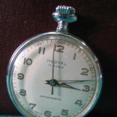 Relojes de bolsillo: RELOJ CARGA MANUAL MEDYAL. NO FUNCIONA. Lote 49163920