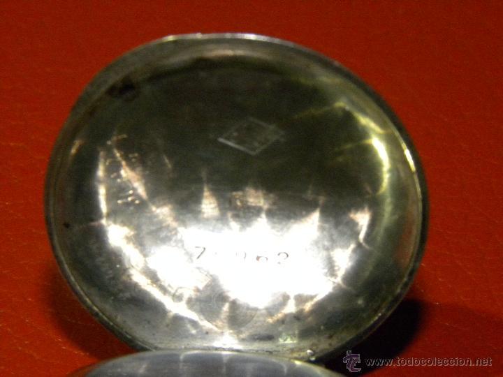 Relojes de bolsillo: Bonito Reloj de Monja con caja de Plata - Funciona perfectamente - Foto 4 - 49168601