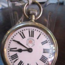 Relojes de bolsillo: RELOJ DE BOLSILLO LOUIS ROSKOPF. FUNCIONANDO. 41 MM. DIÁMETRO.. Lote 49226339