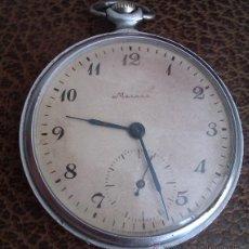 Relojes de bolsillo: ANTIGUO RELOJ DE BOLSILLO RUSO DE LA MARCA MOLNIJA AÑOS 60 18 RUBIES. Lote 49828205