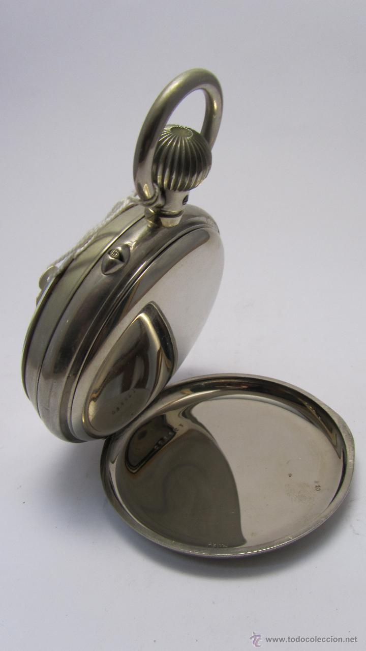 Relojes de bolsillo: Magnifico reloj tipo Goliat de la casa J.C Vickery. Año 1900 - Foto 3 - 50046809